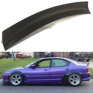 Rear JDM Boot Trunk Ducktail Spoiler Wing Lip (Fits Dodge, Chrysler Neon 94-99)