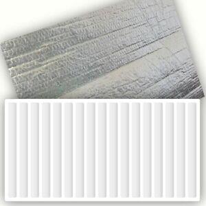 3 Pack  - Yuzet 60cm x 5m Radiator Heat Reflective Insulating Foil Energy Saving