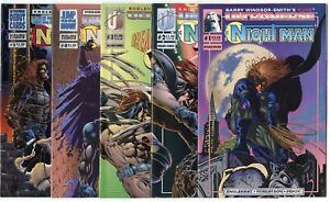 Night Man #1 - 23  Complete Run  avg. NM 9.4 + 9 others  Malibu 1993  No Reserve