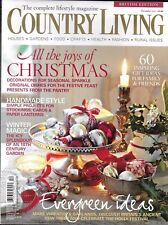 Country Living Magazine Christmas Handmade Style Evergreen Ideas Wreaths Garland