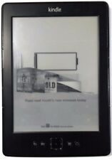 "Amazon Kindle Gen4 2 GB 6"" Grey Wi-Fi e-Reader 2011 (Model No D01100)"