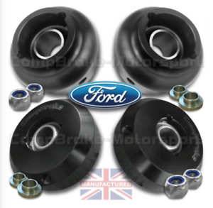 FITS FORD ESCORT MK3-4/RS TURBO/XR3I FRONT & REAR FIXED TOP MOUNTS (2 X PAIR)