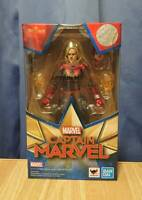 SH.Figuarts Captain Marvel Figure BANDAI SPIRITS Domestic genuine product New!!
