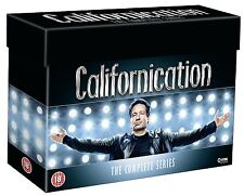 Californication Complete Series Seasons 1 2 3 4 5 6 7 1-7 DVD Box Set New SEALED