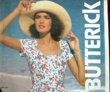 Pattern Catalog 1985 Butterick Store Counter Display, Large Sewing Book, Euc
