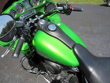 2012 12 Kawasaki VN1700 VAQUERO VULCAN FUEL GAS TANK BLACK GREEN