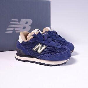 Size 2 Toddler/Infant Kid's New Balance 515 V1 Sneakers KL515PGI Pigment Blue