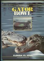 Gator Bowl Dec 1983 Florida Vs Iowa  Thirty-Eighth Annual       MBX27