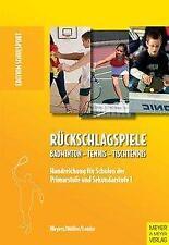 Rückschlagspiele - Norbert Weyers / Michael Müller / Dieter Lemke PORTOFREI
