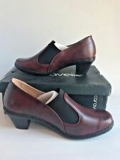 e0dc41e4d629 Ladies Caravelle Wide fit Rounder Red   Burgundy   Maroon Leather Shoes UK 8