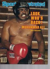 1980 Sports Illustrated Magazine Muhammad Ali Boxing No Label Newsstand