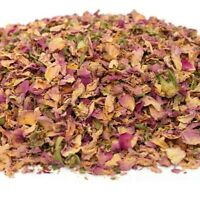 Damascus Rose Petals, Dried Flowers, Tea Bath Bomb, Candle Soap Confetti Petals