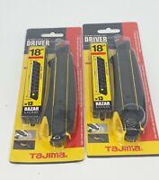 Tajima Cutter Messer Cuttermesser Abbrechklingenmesser mit 13 Ersatzklingen