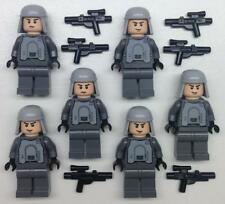 6 Lego Imperial Officers Minifig Lot: Star Wars pilots driver General Veers hoth