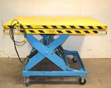 2000lb Lpt4w 020 36 Swivel 2 Platform Scissor Lift Table Elechydraulic 4x6
