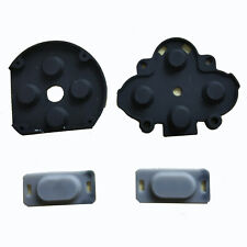 One set D-Pad ABXY L&R Rubber Silicone Button Conductive Pads For PSP 1000