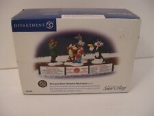 Dept 56 Looney Tunes Animation Film Festival Christmas Village Accessory loc8