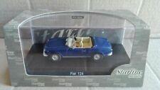 """Die Cast """" Fiat 124 Spider Blue """" Starline Scale 1/43"""