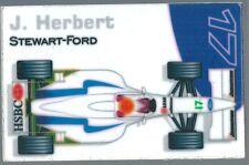 Aimant magnet Prost 1999 Formule 1 Formula 1 F1 Johnny Herbert HSBC Stewart Ford