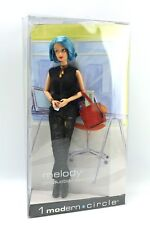 Barbie MELODY Production Assistant 1 Modern Circle Doll Blue Hair 2003