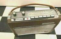 60er Jahre GRAETZ Super Page 1336, Oldtimer Kofferradio, geprüft ,funktioniert