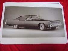 1969 CHRYSLER IMPERIAL   BIG 11 X 17  PHOTO  PICTURE