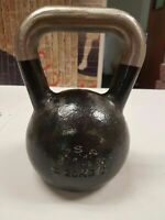 20kg USED Pro Range Cast Iron Kettlebell for Weight & Strength Training workout