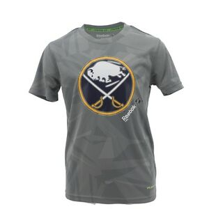 NEW Buffalo Sabres NHL Youth Size Athletic Center Ice Collection T-shirt