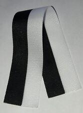Ruban noir et blanc, Décorations, Ordres, Médailles