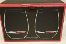Riedel 2 Pc Riedel O Cabernet/Merlot Stemless Wine Glasses 21.2 oz GERMANY