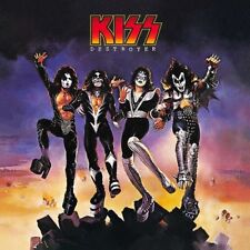 Kiss Destroyer Vinyl LP Cover Sticker or Magnet
