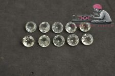Natural Green Amethyst 9mm Round Faceted Cut 50 Pieces Loose Gemstone Lot