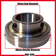 Go Kart Racing 40mm Rear Axle Bearing, Junior, Full Kart