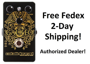New Catalinbread Galileo MKII Overdrive Treble Booster Guitar Effects Pedal