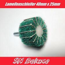 Lamellenschleifer Schleifer Schleifmittel für Heimwerker 40mm x 25mm /6mm Schaft