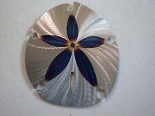 "Handmade Metal 12"" Sand-Dollar,Seashell,Ocean,Marine,Lodge,Home,Beach house,Home"