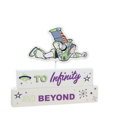 Disney Pixar Toy Story 4 Buzz Lightyear Mantel Block Plaque Kids Decoration Gift