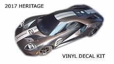 2017 Heritage Decal Stripe Kit for Traxxas Ford GT 1/10