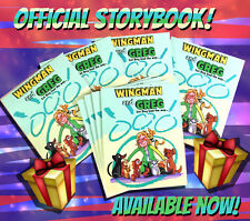 """""""Wingmand and Greg"""" Official Illustrated Storybook w/ bonus Activity Pages"""
