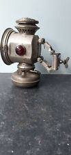 """Vintage bicycle lamp P&A. """" Improved Banner"""" Circa 1897. In great condition."""
