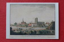 Breslau Polen   Gemälde-AK m. Ansicht v. 1825 Ansichtskarte -reprint-    NEU