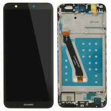 New Huawei P Smart Fig-Lx1 Touch Digitizer Lcd Screen Assembly With Frame Black