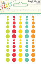 Simple Stories Let's Party Collection Enamel Dots  5331  2016