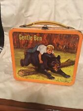 1968 Gentle Ben Metal Lunch Box With Thermos