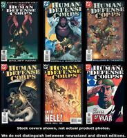 Human Defense Corps 1 2 3 4 5 6 Complete Set Run Lot 1-6 VF/NM