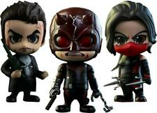 Marvel Netflix Daredevil || Daredevil, Elektra, and Punisher Collectible Cosbaby