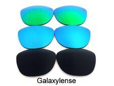 Galaxy Lentes De Repuesto Para Oakley Frogskins Negro, Azul Y VERDE POLARIZADOS