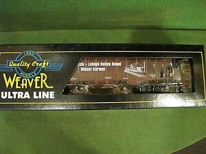WEAVER ULTRA LINE 3 RAIL READING 3 BAY OFFSET SIDE COAL CAR RDG/LV ~ New.