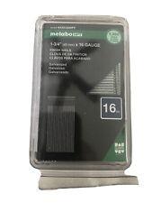 "Metabo Hpt Finish Nails 1-3/4""x 16 Gauge Galvanized  1000ct"