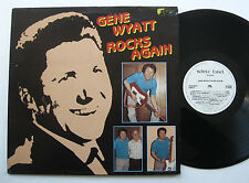 LP Gene Wyatt - Rocks Again - mint- The Peermonts Reuben Bell White Label Rec
